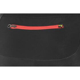 Karpos Alagna Pantalones Hombre, black/flame scarlet
